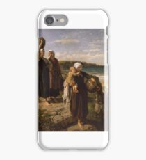 A Spring by the Sea, - Jules Breton iPhone Case/Skin
