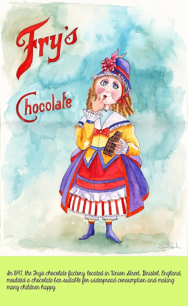 7-The first chocolate bar by IsabelSalvador