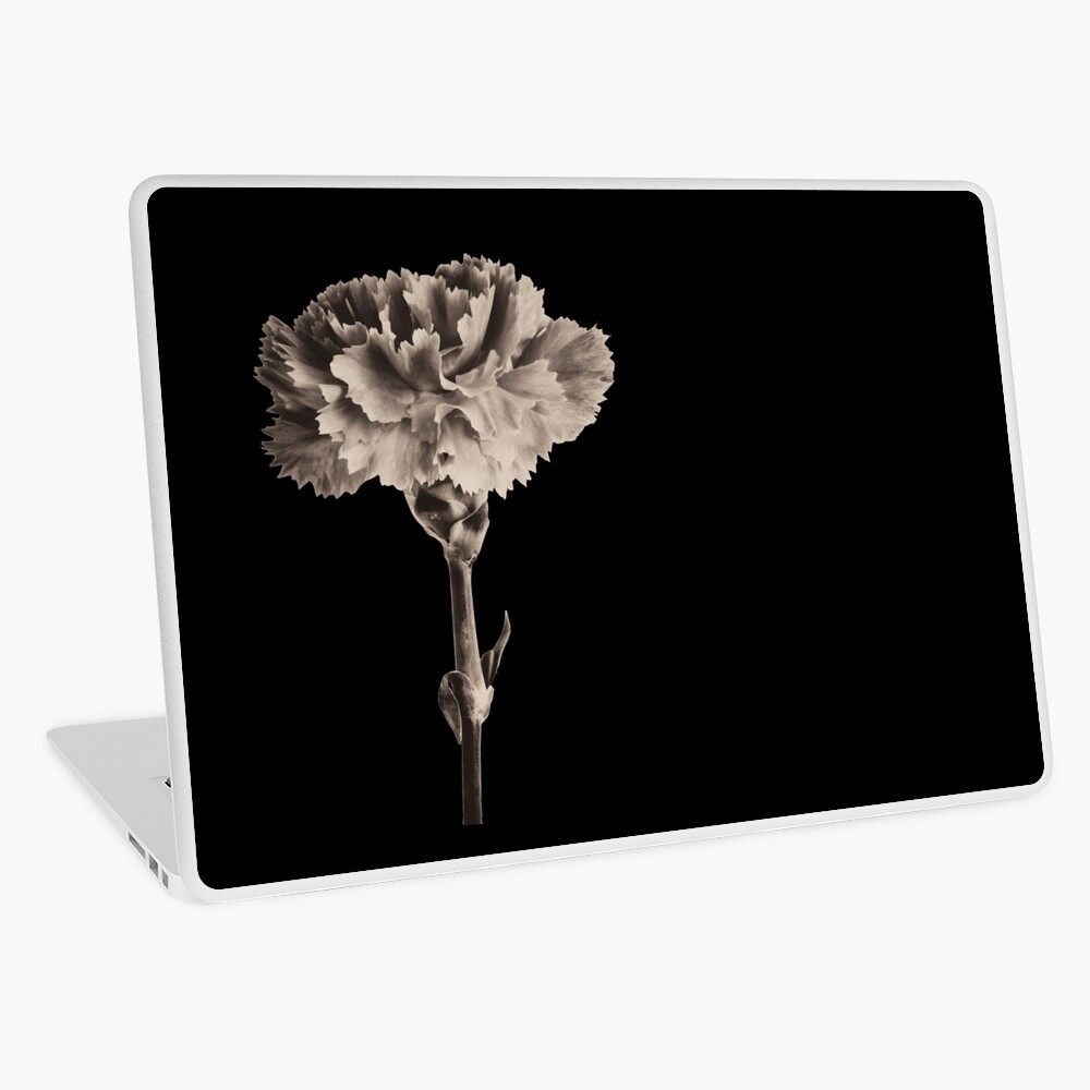 Antique Carnation Laptop Skin