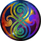 Multicolored Seal of Rassilon by proudprydonian