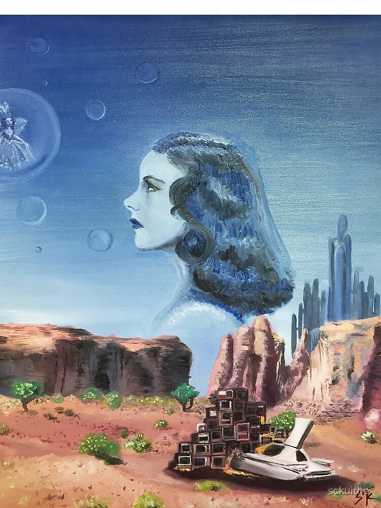cliff notes from a legend oil painting judy garland wizard of oz