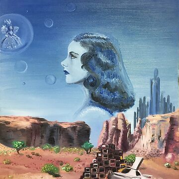 """""""Cliff Notes from a Legend"""" Oil Painting Judy Garland Wizard of Oz by sckuithe"""