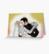 CaptainSwan Wedding Greeting Card
