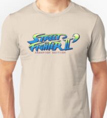 Street Fighter II Champion Edition - Title Screen T-Shirt