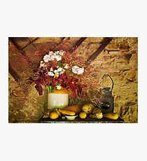 0357 Harvest time Photographic Print