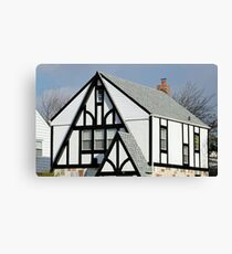 Beautiful little house top Canvas Print