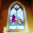 Stained Glass Window - Holy Trinity Anglican church, Williamstown, Vic. Australia by EdsMum