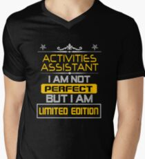 ACTIVITIES ASSISTANT Men's V-Neck T-Shirt