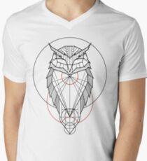 Oam Owl Men's V-Neck T-Shirt