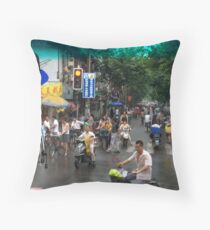 Suzhou China Throw Pillow