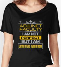 ADJUNCT FACULTY Women's Relaxed Fit T-Shirt