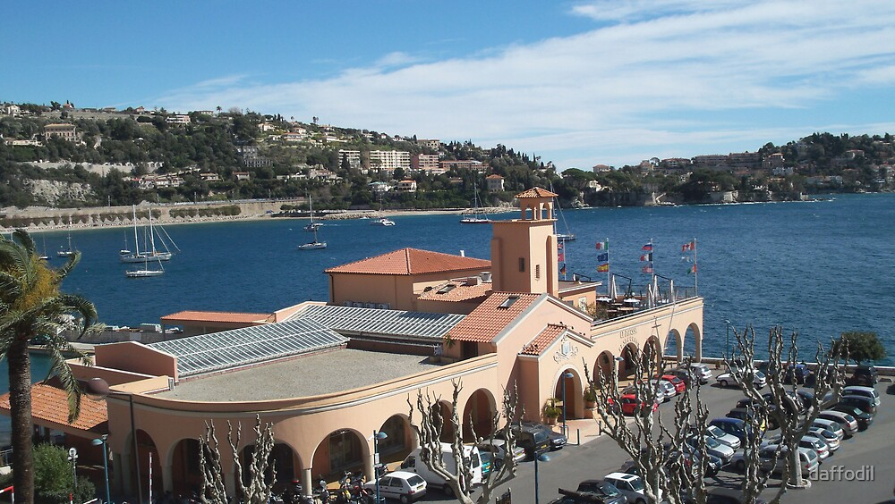 View of Villefranche Sur Mer by daffodil