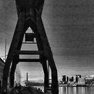 "Crane and Lighthouse ""Lanterna"" by Roberta Angiolani"
