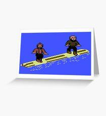 Log Rolling Greeting Card