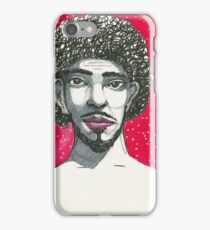 Afro hairstyle man iPhone Case/Skin