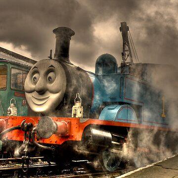 Thomas At The Platform by L18daw