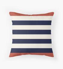 Stripes - Nautical Throw Pillow