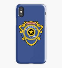RACCOON POLICE - DETECTIVE BADGE (V1) iPhone Case/Skin