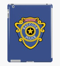RACCOON POLICE - DETECTIVE BADGE (V1) iPad Case/Skin
