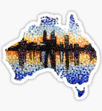 Perth City Sunrise Sticker