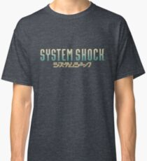 System Shock Retro Game Design  Classic T-Shirt