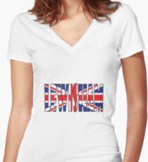 Lewisham Women's Fitted V-Neck T-Shirt