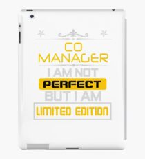 co manager iPad Case/Skin