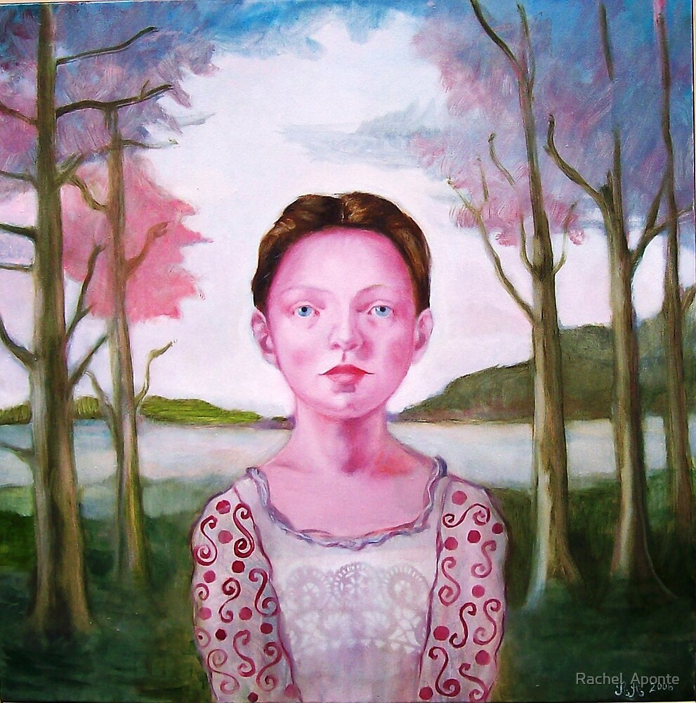 Isabel with Pink Trees by Rachel  Aponte