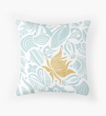 Heavenly lovely flowers Throw Pillow