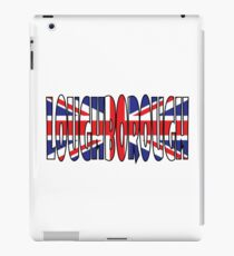 Loughborough iPad Case/Skin