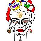 Move like Frida Kahlo  by Branko Jovanovic
