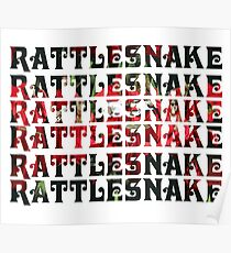RATTLESNAKE RATTLESNAKE RATTLESNAKE King Gizzard And The Lizard Wizard Poster