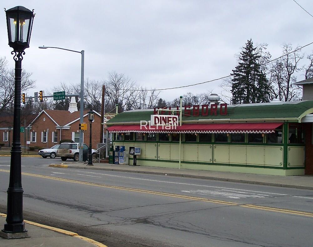 Wellsboro (Trolley Car) Diner - Wellsboro PA by RLHall