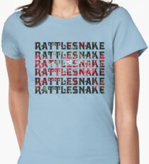 RATTLESNAKE RATTLESNAKE RATTLESNAKE King Gizzard And The Lizard Wizard Womens Fitted T-Shirt