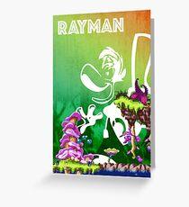 [PLATFORM GAMES!] Rayman - Dream Forest Greeting Card
