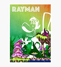 [PLATFORM GAMES!] Rayman - Dream Forest Photographic Print
