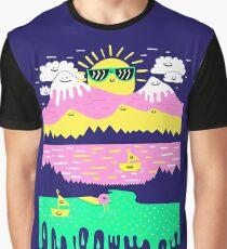 Happy Lake Graphic T-Shirt