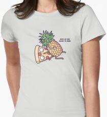 Forbidden love Women's Fitted T-Shirt
