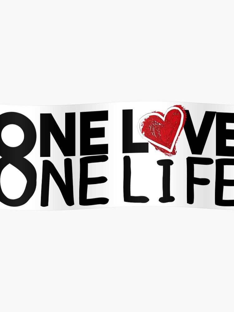 u2 one love one life   Poster