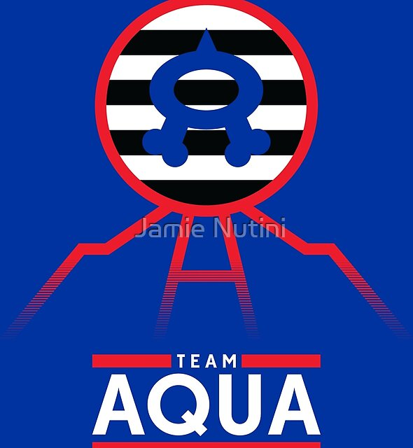 Team Aqua Kyogre Stuff by Jimmy Nutini
