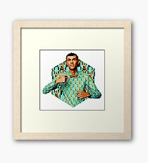 Papaoutai Framed Print