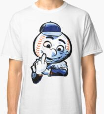 Mr. Met Middle Finger Classic T-Shirt