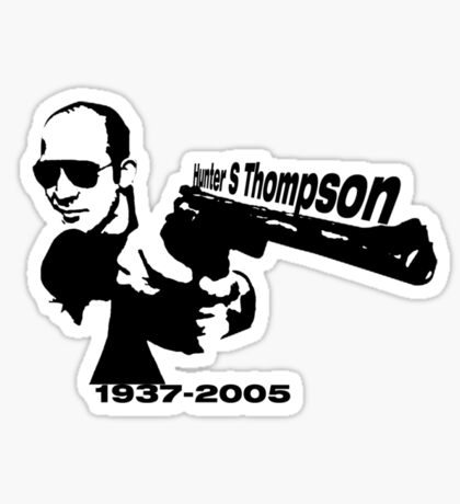 Hunter S Thompson Sticker