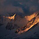 Nameless Peaks by Marty Samis