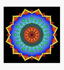 Eppur Si Muove Mandala Photographic Print