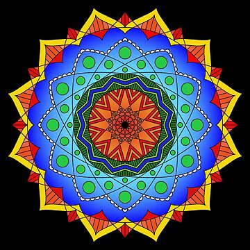 Eppur Si Muove Mandala by ninthcircle
