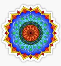 Eppur Si Muove Mandala Sticker
