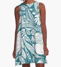 Magische Naturbefunde A-Linien Kleid