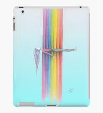 Rainbow Meditation Yoga Girl iPad Case/Skin