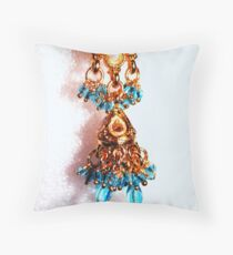 Another One Ear Ring Throw Pillow